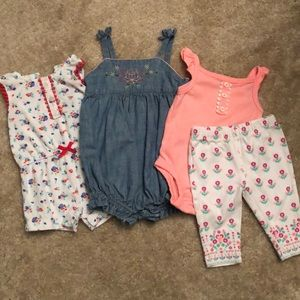 3m baby girl bundle